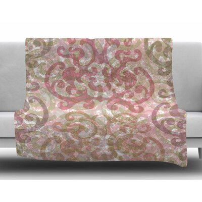 Chintz by Chickaprint Fleece Blanket