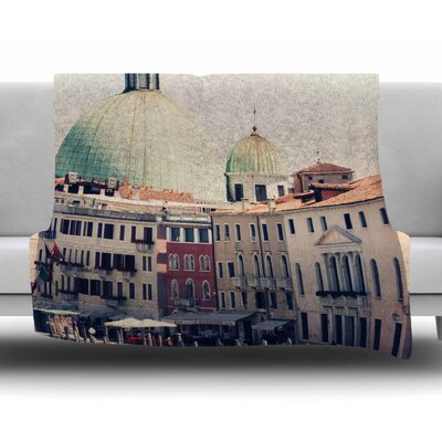 Venice 3 by Sylvia Coomes Fleece Blanket