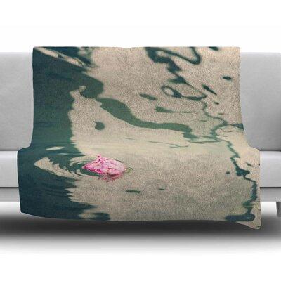 Venetian Rose by Sylvia Coomes Fleece Blanket