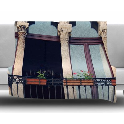 Venice 11 by Sylvia Coomes Fleece Blanket