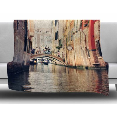 Venice 10 by Sylvia Coomes Fleece Blanket