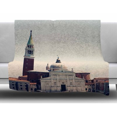 Venice 7 by Sylvia Coomes Fleece Blanket
