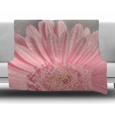 Summer Daisy by Suzanne Harford Fleece Blanket