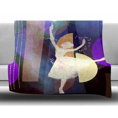 Ballet by alyZen Moonshadow Fleece Blanket