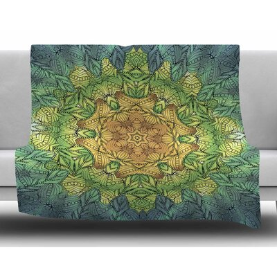 Celtic Flower by Art Love Passion Fleece Blanket