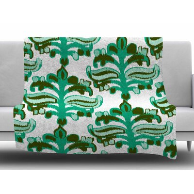 Chandelier Ikat by Amy Reber Fleece Blanket