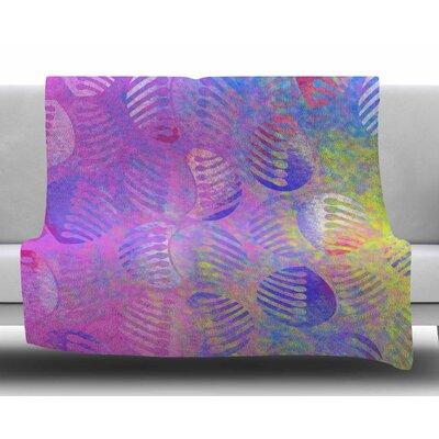 Poddy Combs - Subtle Pastels by Dan Sekanwagi Fleece Blanket