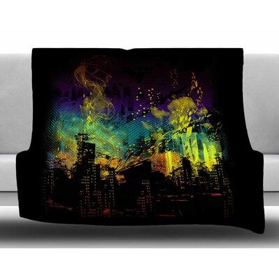 City Grid by Frederic Levy-Hadida Fleece Blanket