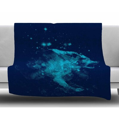 Predation Instinct II by Frederic Levy-Hadida Fleece Blanket