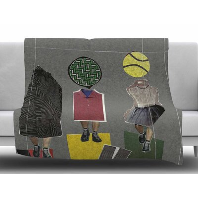 Fashion by Jina Ninjjaga Fleece Blanket