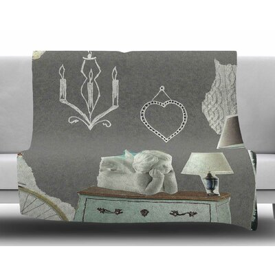 Decor by Jina Ninjjaga Fleece Blanket