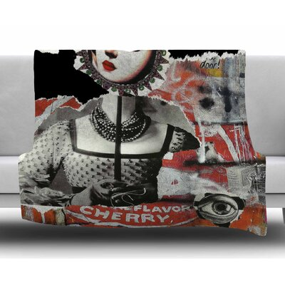 Anarchy by Jina Ninjjaga Fleece Blanket