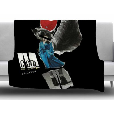 Cool by Jina Ninjjaga Fleece Blanket