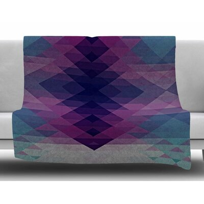 Hipsterland II by Nika Martinez Fleece Blanket