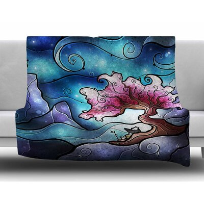 Sea Dance by Mandie Manzano Fleece Blanket