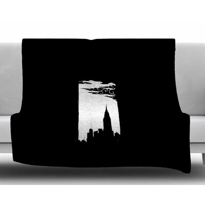 Chrysler Building by BarmalisiRTB Fleece Blanket