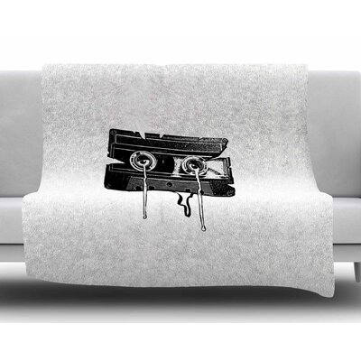 Cassette Memories by BarmalisiRTB Fleece Blanket