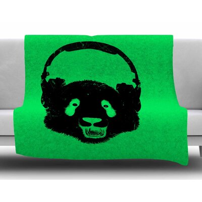Panda by BarmalisiRTB Fleece Blanket