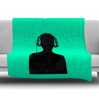 Music by BarmalisiRTB Fleece Blanket