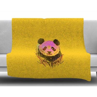 Dandy Panda by BarmalisiRTB Fleece Blanket