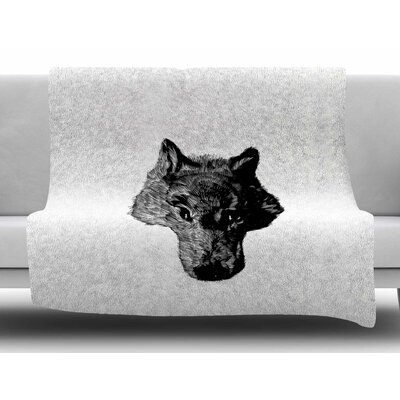 Coyote by BarmalisiRTB Fleece Blanket