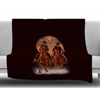 Come at Night by BarmalisiRTB Fleece Blanket
