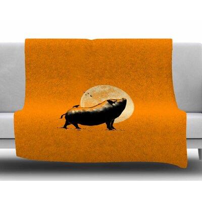 Barking Pig by BarmalisiRTB Fleece Blanket