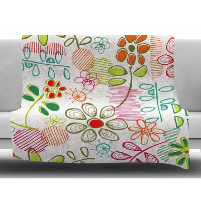 Wildflower by Holly Helgeson Fleece Blanket
