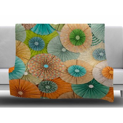 Summer Party by Heidi Jennings Fleece Blanket