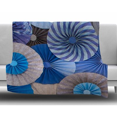 Coastline Cottage by Heidi Jennings Fleece Blanket