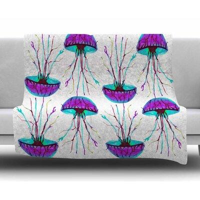 Jellyfish by Ivan Joh Fleece Blanket
