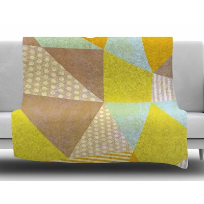 Geometric by Louise Machado Fleece Blanket