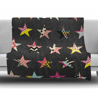 Dancing Stars by Louise Machado Fleece Blanket