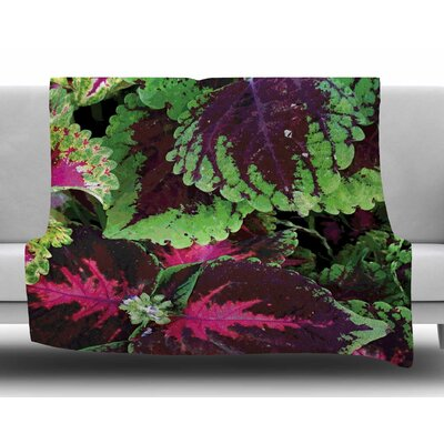 Forest by Louise Machado Fleece Blanket