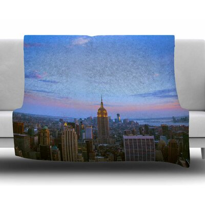 Empire State of Mind by Juan Paolo Fleece Blanket
