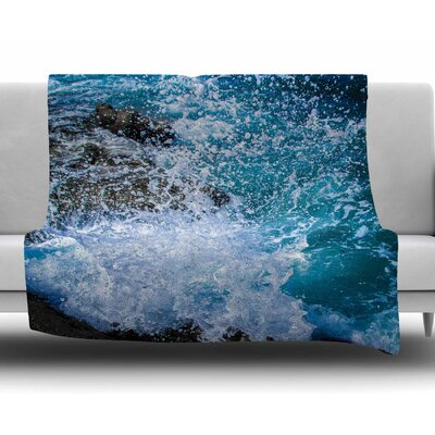 La Jolla Shores by Juan Paolo Fleece Blanket