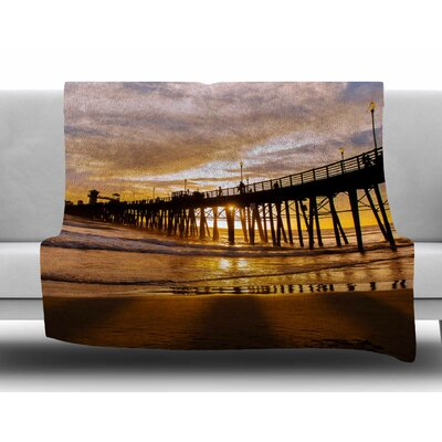 The Golden Hour by Juan Paolo Fleece Blanket