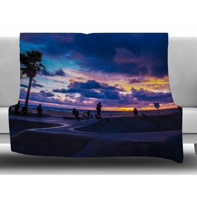 Dogtown by Juan Paolo Fleece Blanket