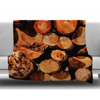 The Lumber Yard by Juan Paolo Fleece Blanket