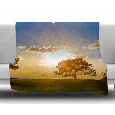 Approach Shot by Juan Paolo Fleece Blanket