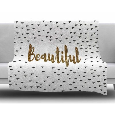 Beautiful by Suzanne Carter Fleece Blanket