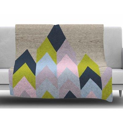 Woodgrain by Suzanne Carter Fleece Blanket