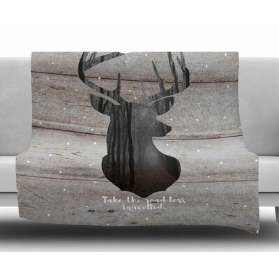 The Road by Suzanne Carter Fleece Blanket