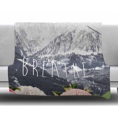 Breathe by Suzanne Carter Fleece Blanket