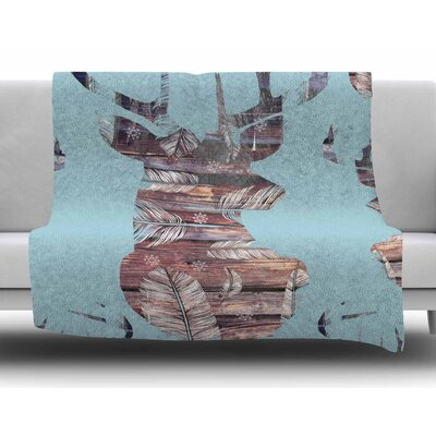 Wild and Free by Suzanne Carter Fleece Blanket