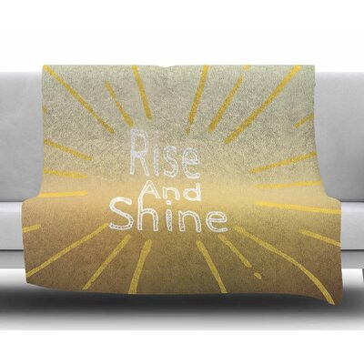 Rise and Shine by Suzanne Carter Fleece Blanket
