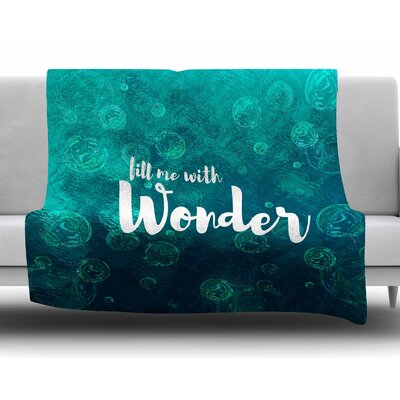 Wonder 2 by Suzanne Carter Fleece Blanket