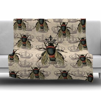 Queen Bee by Suzanne Carter Fleece Blanket