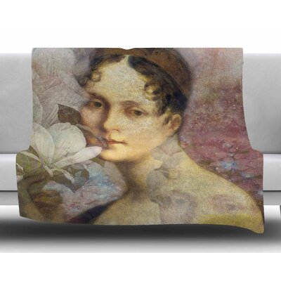 Magnolia Dream by Suzanne Carter Fleece Blanket