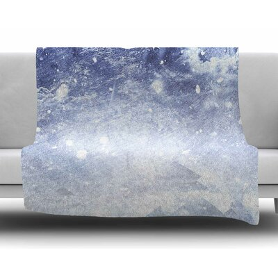 Even Mountains Get Cold by Ulf Harstedt Fleece Blanket